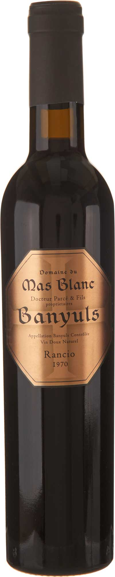 Domaine du Mas Blanc Banyuls Rancio 1970
