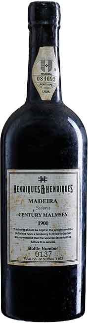 H&H Century Malmsey Solera 1900