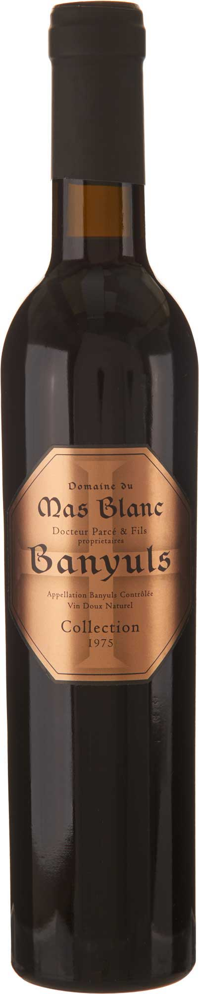 "Domaine du Mas Blanc Banyuls ""Collection"" 1975"