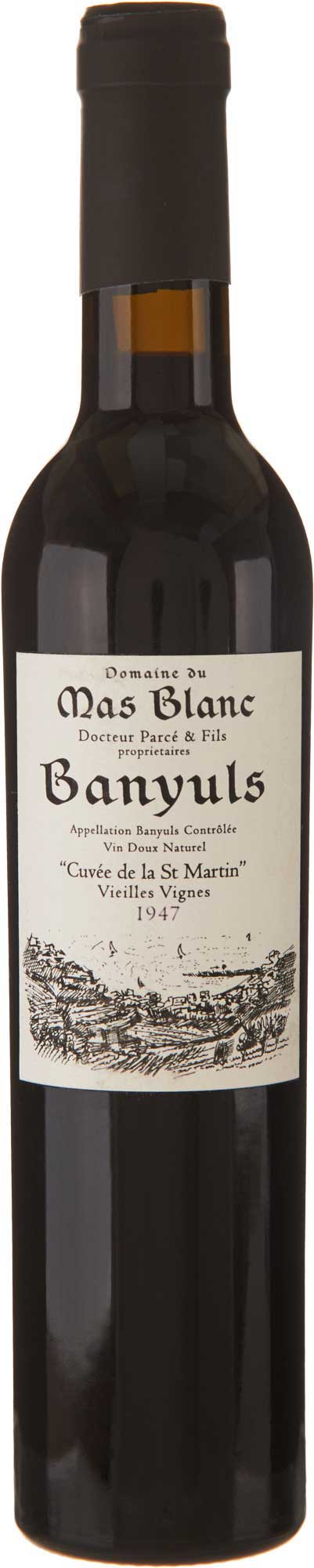 Domaine du Mas Blanc Banyuls 'Cuvée St. Martin' 1947