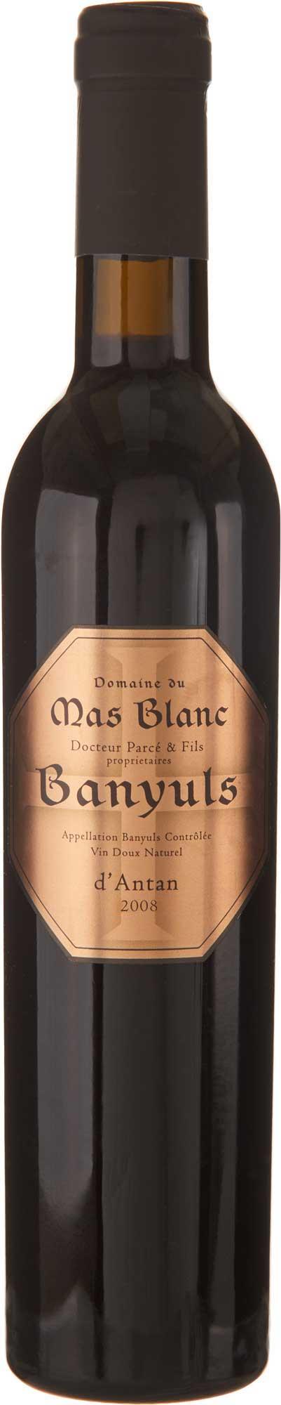 "Domaine du Mas Blanc Banyuls ""d'Antan"" 2008"