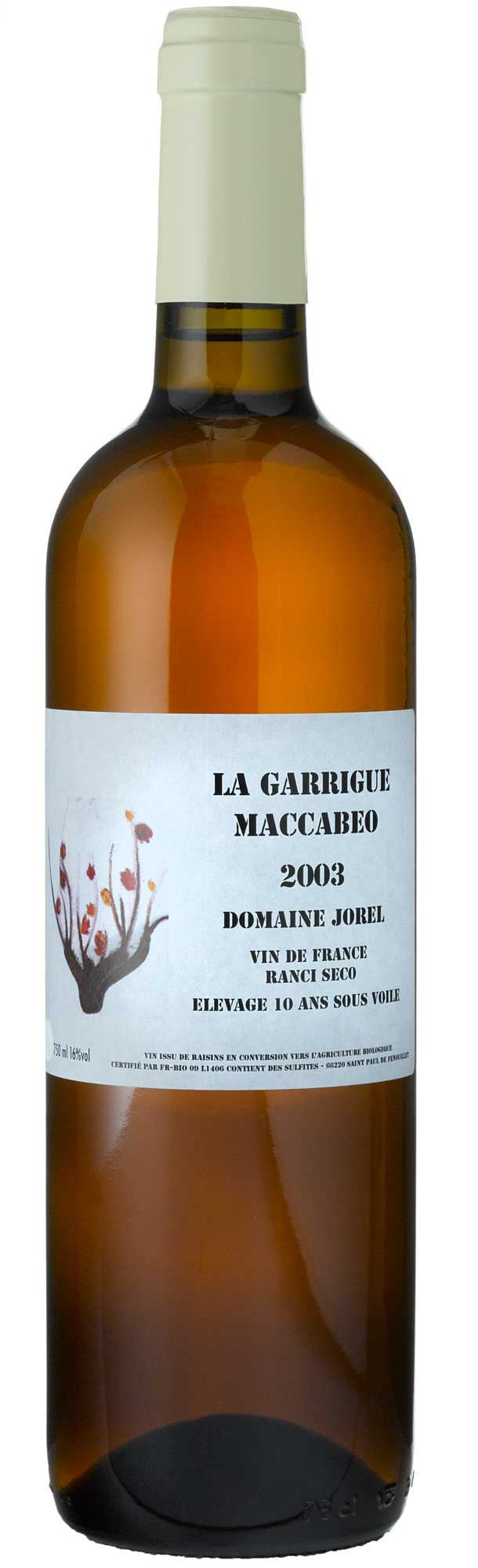 Domaine Jorel 'La Garrigue' Rancio Sec 2003
