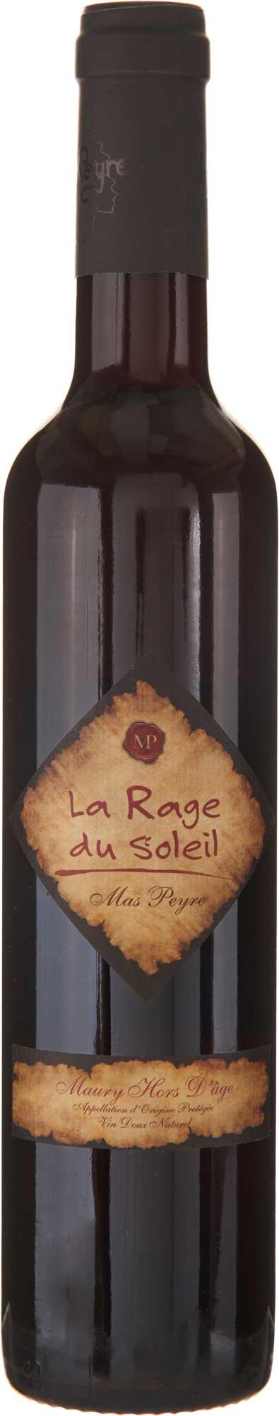 """Mas Peyre Maury Hors d'Age """"La Rage du Soleil"""" NV"""