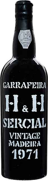 H&H Sercial Madeira 1971
