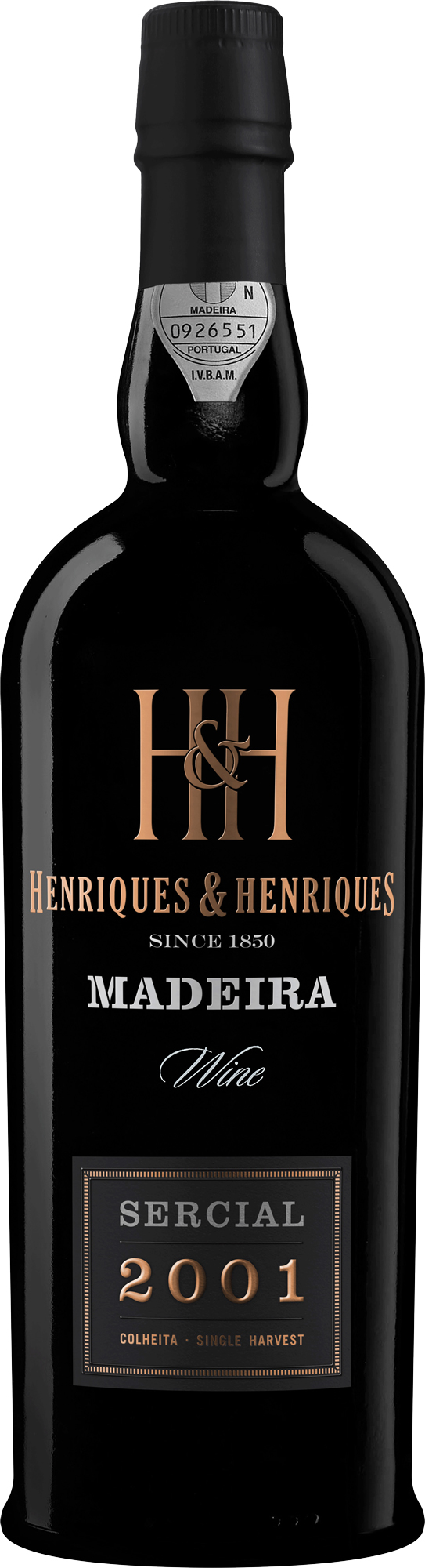 H&H Sercial Single Harvest Madeira 2001