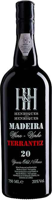 H&H Terrantez 20 Year Old Madeira