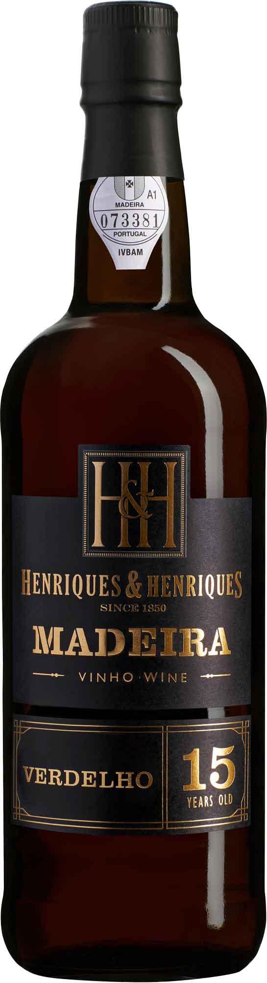 H&H Verdelho 15 Year Old Madeira NV