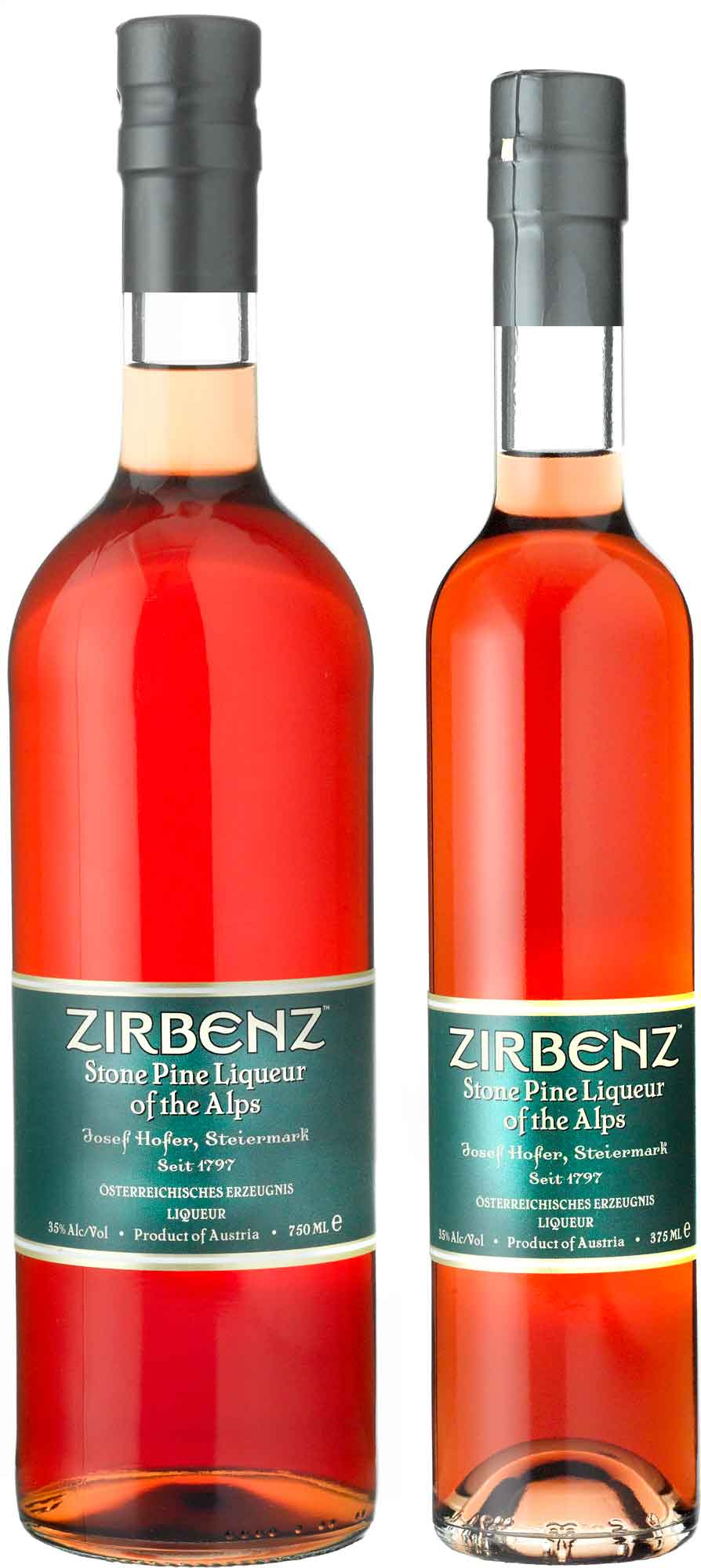 Zirbenz Stone Pine Liqueur of the Alps